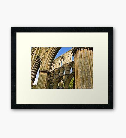 Arched Windows Framed Print
