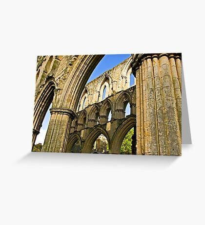 Arched Windows Greeting Card