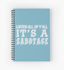 Cuaderno de espiral Sabotaje