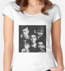 why don't we 8 letters album cover Women's Fitted Scoop T-Shirt