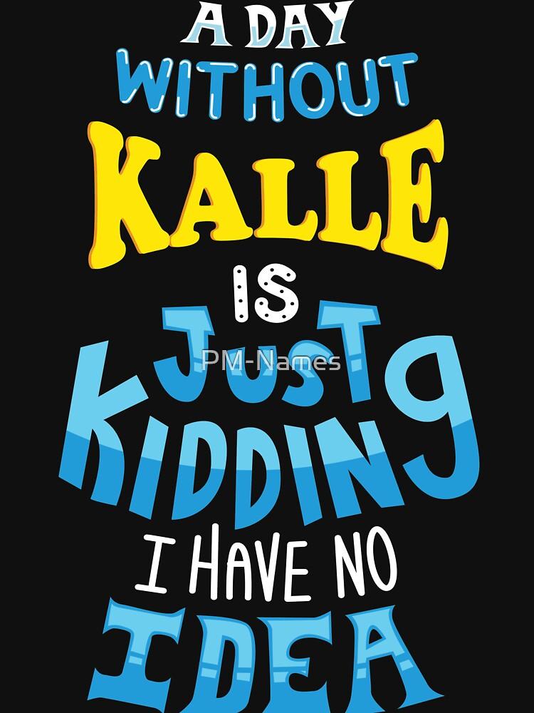 Best friends dearest name design Kalle by PM-Names