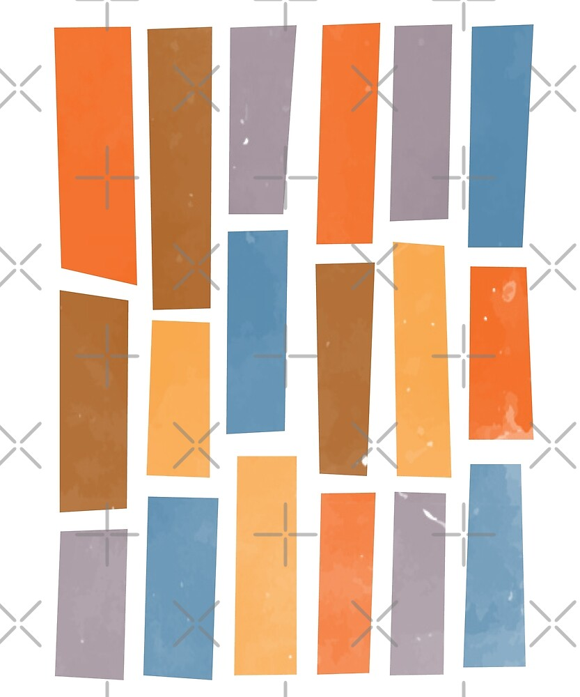 Colourful Rectangles by designkitsch