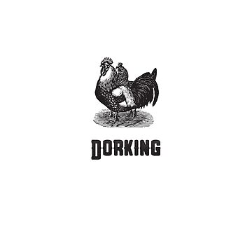 Dorking Chicken | Animal Art by CarlosV