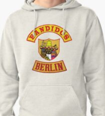 Bandidos Berlin Germany front jacket full patch Pullover Hoodie