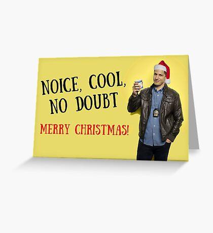 Feliz Navidad, Brooklyn Nine Nine, tarjetas de felicitación meme Tarjeta de felicitación