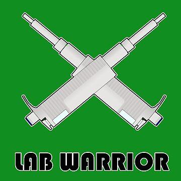 Warrior d. Laboratory - Science Nerd, Biology, Chemistry by Garaunt