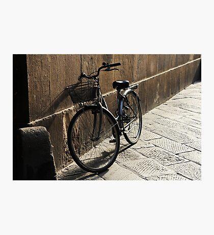 Lonely Bike Photographic Print