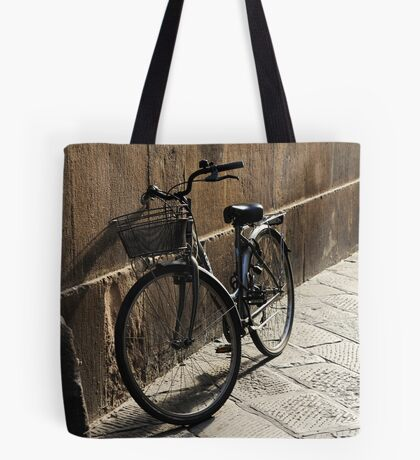 Lonely Bike Tote Bag