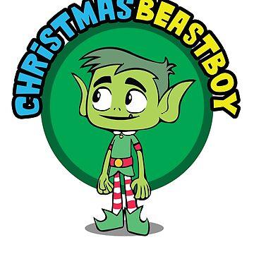 Teen Titans - Beastboy's Christmas by OkamiLine