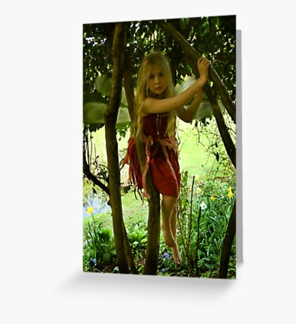 Tree Fairy Greeting Card