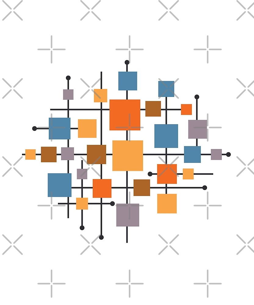 MCM Abstract by designkitsch