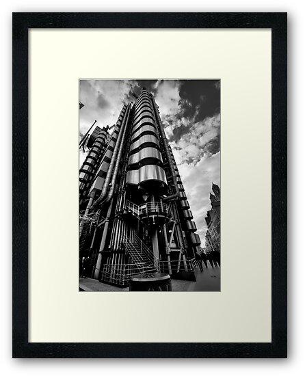 Lloyd's of London in Monochrome by timlovelady
