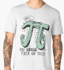 Wanna Piece of This Pi Symbol Men's Premium T-Shirt