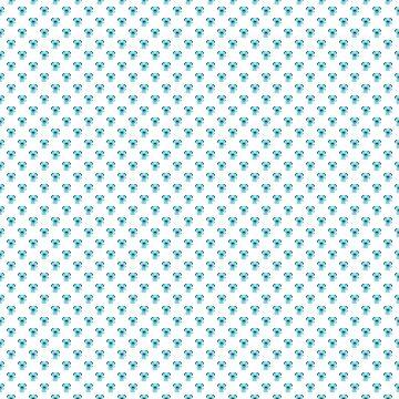Pastel greenish blue pet puppy pattern by ShineEyePirate