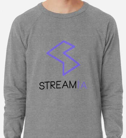 Streamia Logo Alt. Lightweight Sweatshirt