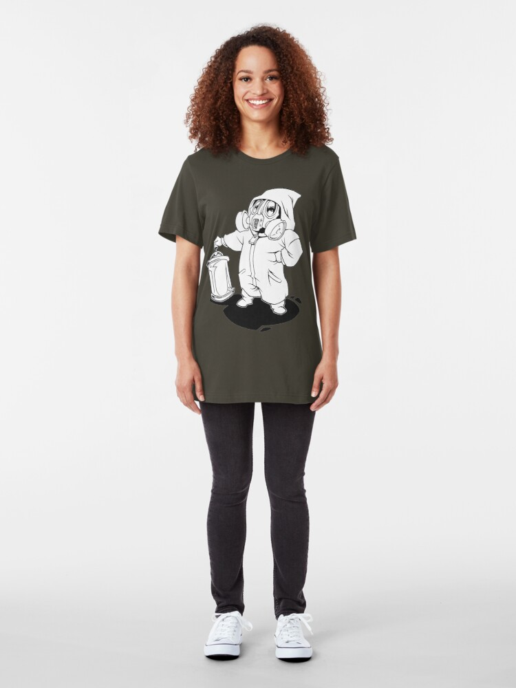 Alternate view of Can, Mask & Overall Slim Fit T-Shirt