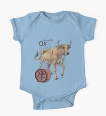 Chinese Zodiac - The Ox One Piece - Short Sleeve