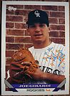 435 - Joe Girardi by Foob's Baseball Cards