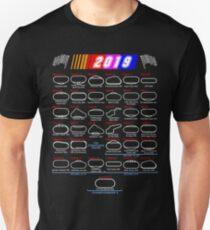 Schedule Nascar Cup Series 2019 Unisex T-Shirt