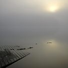 Dock at Opeongo by Tracy Wazny