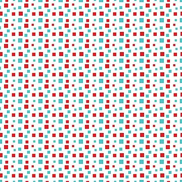 Step by step... Red and green square pattern by ShineEyePirate