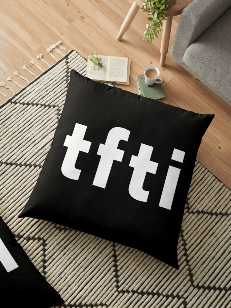 tfti text messages meaning : thanks for the invite / the information