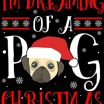 Pug Christmas Ugly Pugly Santa Dog Mom Dad Gift by kh123856