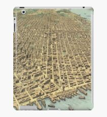 Vintage Pictorial Map of San Francisco CA (1913) iPad Case/Skin
