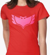 Pj masks Owlette symbol Women's Fitted T-Shirt