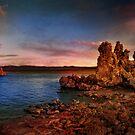 Mono Lake Scene post sunset by socalgirl