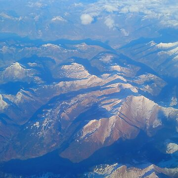 Mountains from the window seat by TalBright
