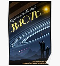 Space Travel Poster J1407b Poster