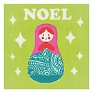 Noel Russian Doll by Chris Sayer