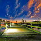 Veterans Pier in Murrells Inlet by TJ Baccari Photography