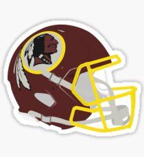 Washington Redskins Helm Sticker
