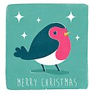 Christmas Robin by Chris Sayer