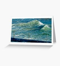 maré....tide Greeting Card