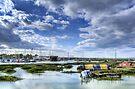 Tollesbury Harbour by Nigel Bangert