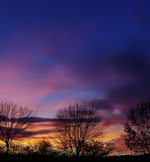 Purple Sky by Francis Drake