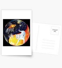 YinYang Postcards