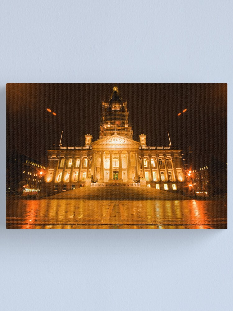 Alternate view of Bolton Town Hall Canvas Print