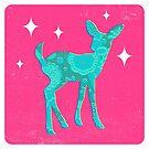 Xmas Bambi by Chris Sayer