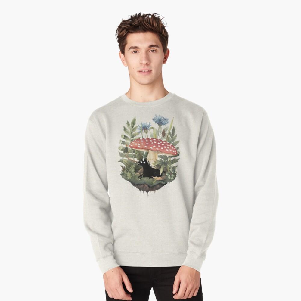 Tiny Unicorn Pullover Sweatshirt