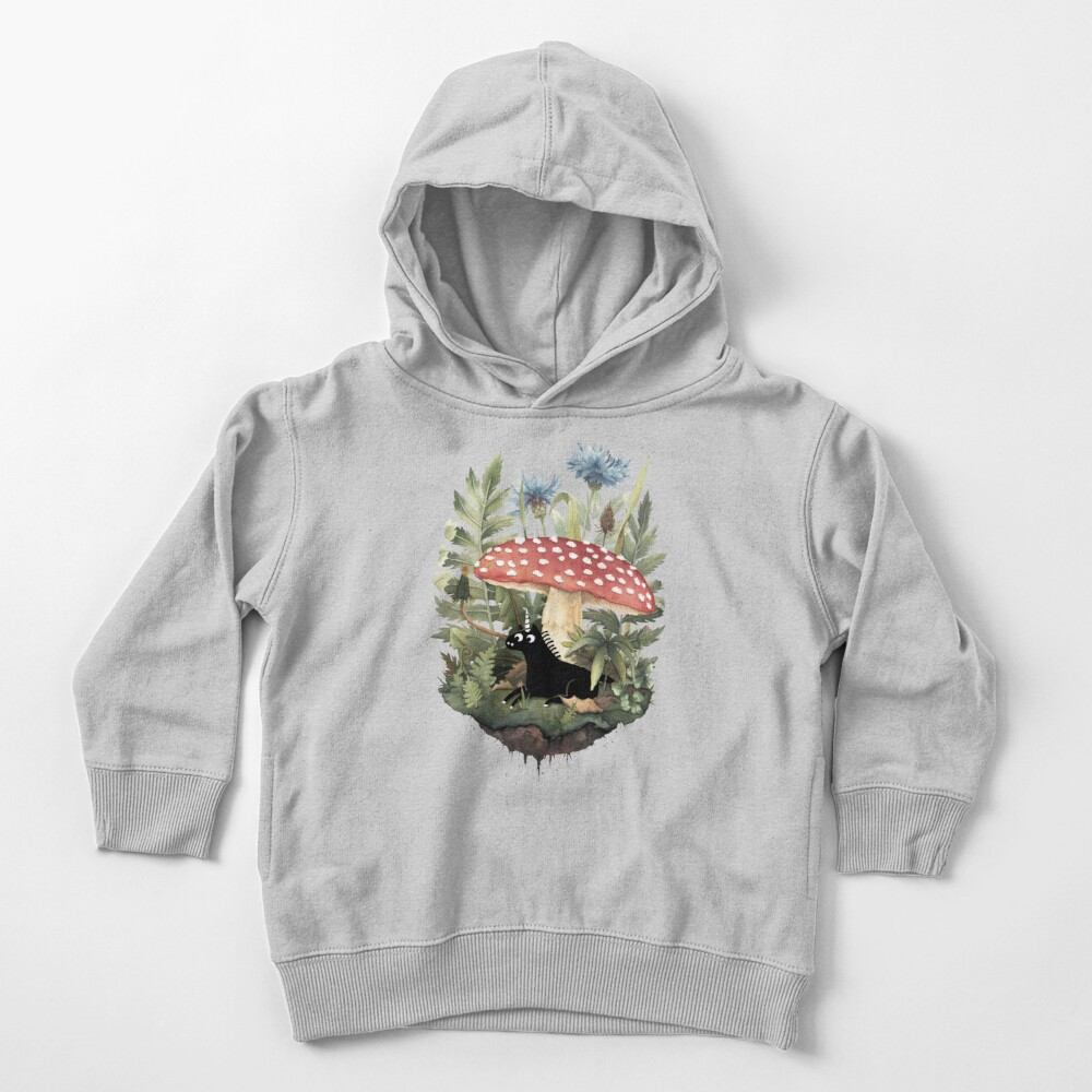 Tiny Unicorn Toddler Pullover Hoodie