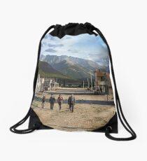 Eureka, Colorado ca 1900 Drawstring Bag