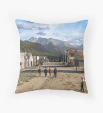 Eureka, Colorado ca 1900 Throw Pillow