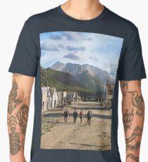 Eureka, Colorado ca 1900 Men's Premium T-Shirt
