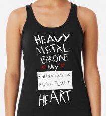 Fall Out Boy Centuries - Heavy Metal Broke My Heart Racerback Tank Top