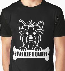 YORKIE LOVER Graphic T-Shirt