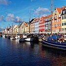 Nyhaven Copenhagen Denmark by Mark Baldwyn